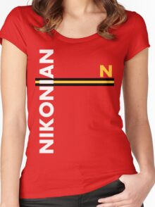 Nikonian Women's Fitted Scoop T-Shirt