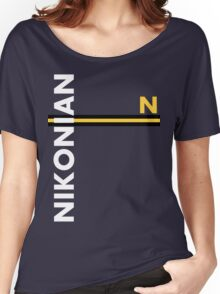 Nikonian Women's Relaxed Fit T-Shirt