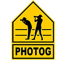 Photog Photographic Print