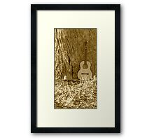 Quiet Moments.... Framed Print