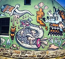 Street Art, Newtown by Shannon Friel
