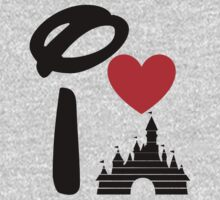 I Heart Sleeping Beauty (dark) T-Shirt