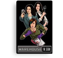 Warehouse 13 girls Canvas Print