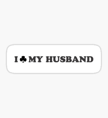 I Club My Husband Sticker