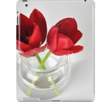 Red tulip still life iPad Case/Skin