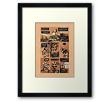 Electric Body - Page 1 Framed Print