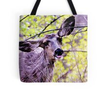 Deer John Tote Bag