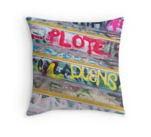 SYDNEY GRAFFITI 45 Throw Pillow