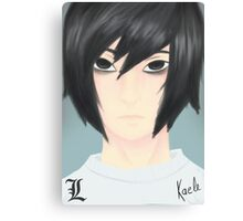 Elle Lawliet  Canvas Print
