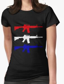Freedom Guns Womens Fitted T-Shirt