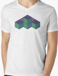 Stacks Mens V-Neck T-Shirt