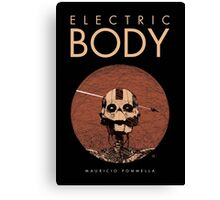 Electric Body - Cover Canvas Print