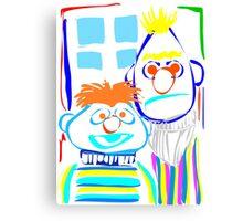 Bert & Ernie Canvas Print