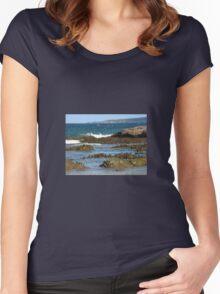 ROCK SCULPTURES Women's Fitted Scoop T-Shirt