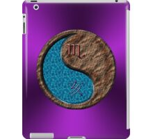 Scorpio & Boar Yin Earth iPad Case/Skin