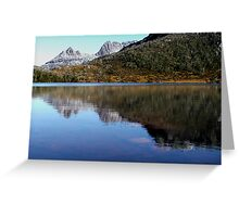 Reflections in Lake Lilla, Cradle Mountain  Greeting Card