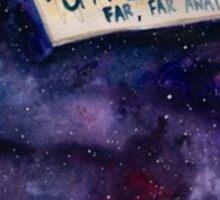 Jar Of Galaxies Sticker