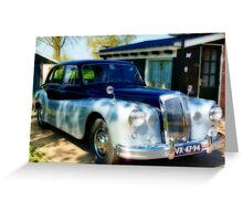 DAIMLER CONQUEST 1957  # 2 Greeting Card