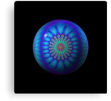 One. Blue. Ball. Canvas Print