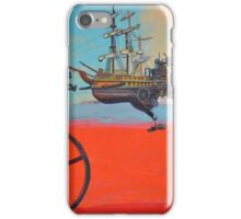 Illustration for SciPhi Journal issue #5 'HMS Mangled treasure' iPhone Case/Skin
