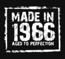Made In 1966 Aged To Perfection - T-shirts & Hoodies by anjaneyaarts