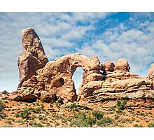 Turret Arch in Arches National Park, Moab, Utah Photographic Print