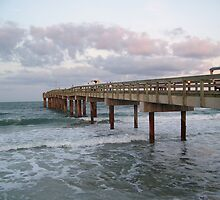 St. Johns Pier by Caren