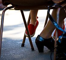 My Red Shoes by Marnie Hibbert