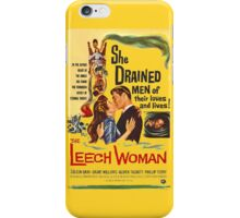 Leech Woman She Drained Men of Their Loves and Lives iPhone Case/Skin