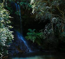 Blue Mountains Waterfall by YazzieO
