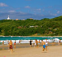 Beaches of Byron by ijam357