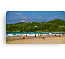 Beaches of Byron Canvas Print