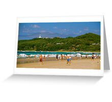 Beaches of Byron Greeting Card