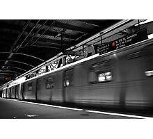 F Train  Photographic Print