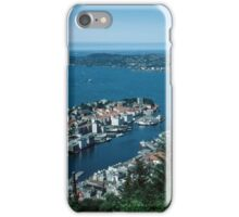Bergen from Above on funicular Norway 19840611 0011m  Kodachrome iPhone Case/Skin
