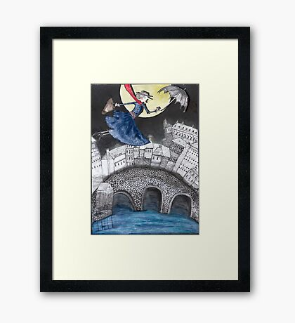 Mary Poppins Framed Print
