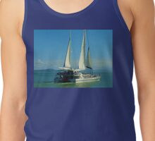 Sailing at Port Douglas Queensland Australia  Tank Top