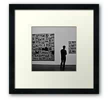 @Exhibition 02 Framed Print
