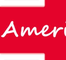 HILLARY 2016 - FOR AMERICA'S PRESIDENT Sticker