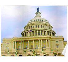 US Capitol Building Washington DC June of 2006 Poster