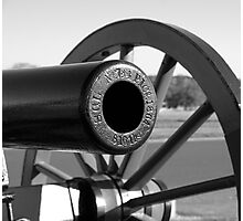 Cannons of Gettysburg Photographic Print