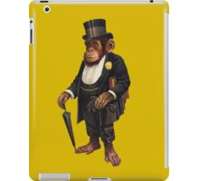 Well to do Chimp iPad Case/Skin