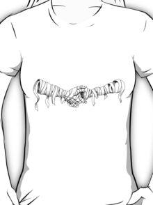 mummy handshake T-Shirt