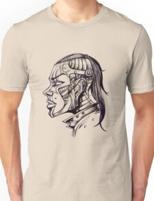 """my girlfriend turned out to be a """"girl-bot"""" from the future......... bummer Unisex T-Shirt"""