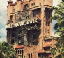 hollywood tower hotel Sticker