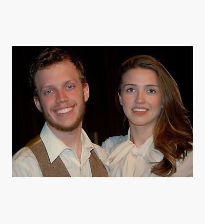 Alanna and Jake.. my Super Stars!! Photographic Print