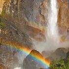 Bridal Veil Falls Rainbow by photosbyflood