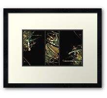 """Twisted"" Framed Print"