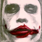 The Joker Heath Ledger The Dark Night by Anthony Mitchell