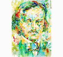 EDGAR ALLAN POE watercolor portrait.1 Unisex T-Shirt